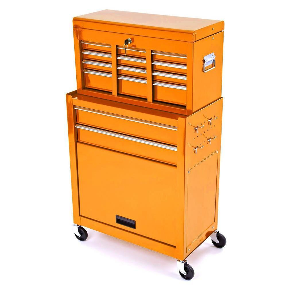 Merveilleux Tool Boxes U0026 Benches Motocross Workshop Tool Chest U0026 Cabinet On Wheels    Orange