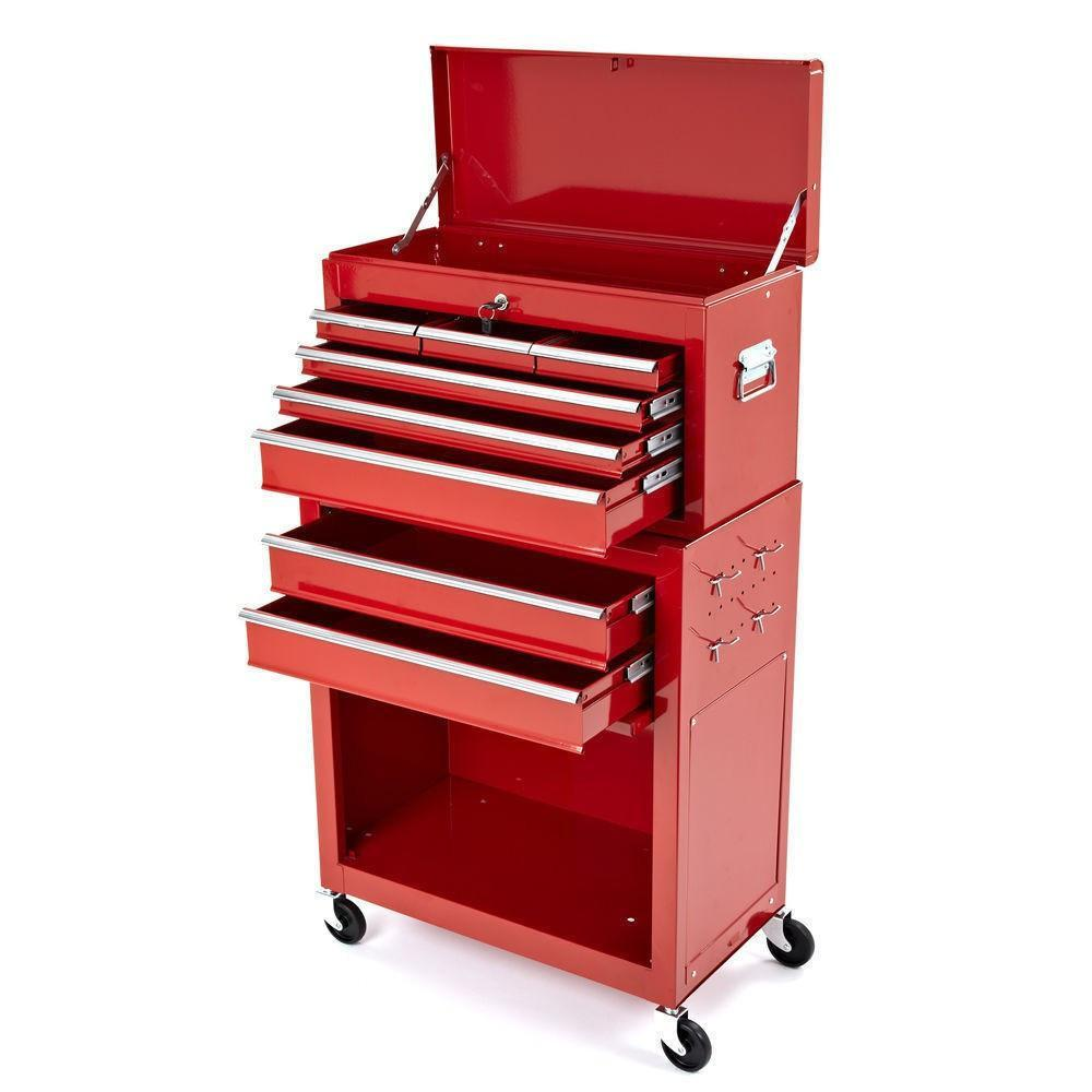 Charmant Motocross Workshop Tool Chest U0026 Cabinet On Wheels   Red