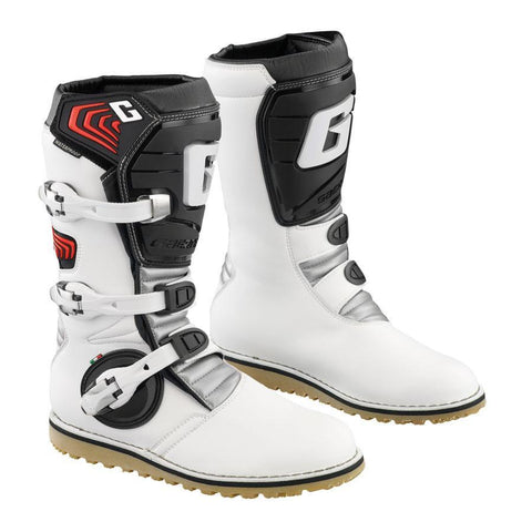 Trials Boots 4 (38) Gaerne Balance Kids YOUTH Trials Boots - Classic White
