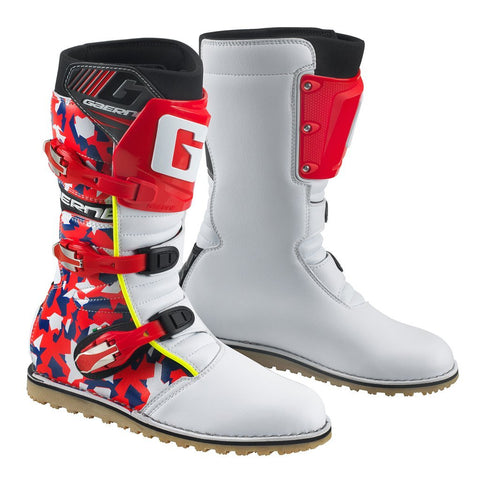 Trials Boots 6 (41) 2018 Gaerne Trials Boots - Camo Red