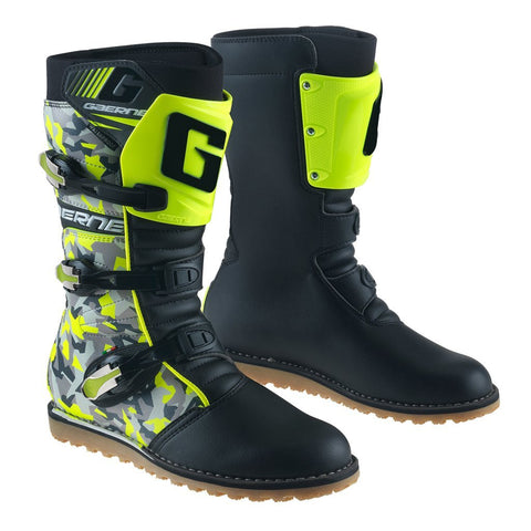 Trials Boots 7 (42) 2018 Gaerne Trials Boots - Camo Yellow