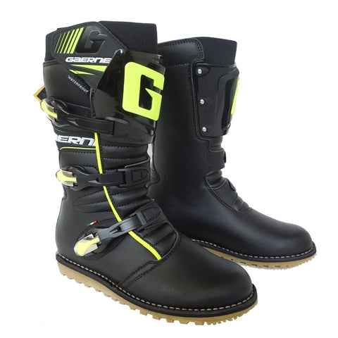 Trials Boots 7 (42) Gaerne Classic Trials Boots - Black / Fluo Yellow