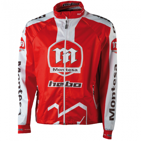 Trials Jackets Hebo Jacket Pro Wind Montesa Classic Large - Red