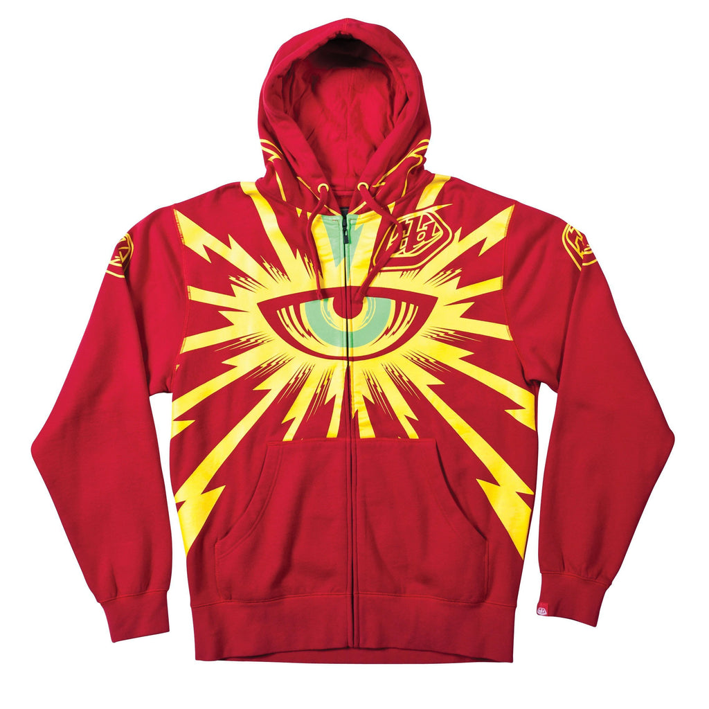 Troy Lee Casual Wear S Troy Lee Hoody - Cyclops - Red