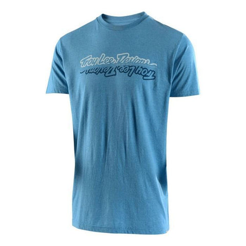 Troy Lee Casual Wear Troy Lee Designs All Time T-Shirt - Sky Blue Heather