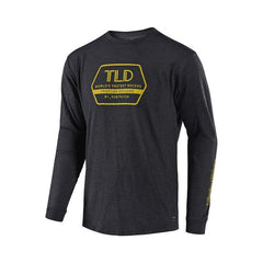 Troy Lee Designs Factory Long Sleeve T-Shirt - Charcoal