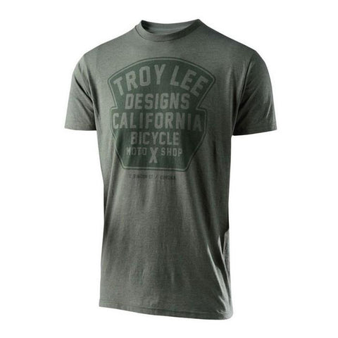 Troy Lee Casual Wear Troy Lee Designs Granger T-Shirt - Solid Kelly Heather
