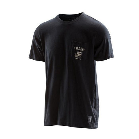 Troy Lee Casual Wear Troy Lee Designs Hand Crafted T-Shirt - Black