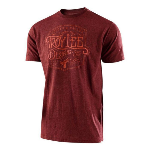 Troy Lee Casual Wear Troy Lee Designs Heritage T-Shirt - Brick Heather