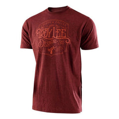 Troy Lee Designs Heritage T-Shirt - Brick Heather