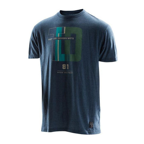 Troy Lee Casual Wear Troy Lee Designs Impacto T-Shirt - Heather Navy