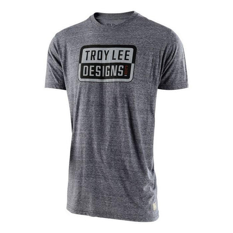 Troy Lee Casual Wear Troy Lee Designs Keep Steppin T-Shirt - Vintage Grey Snow