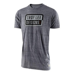 Troy Lee Designs Keep Steppin T-Shirt - Vintage Grey Snow