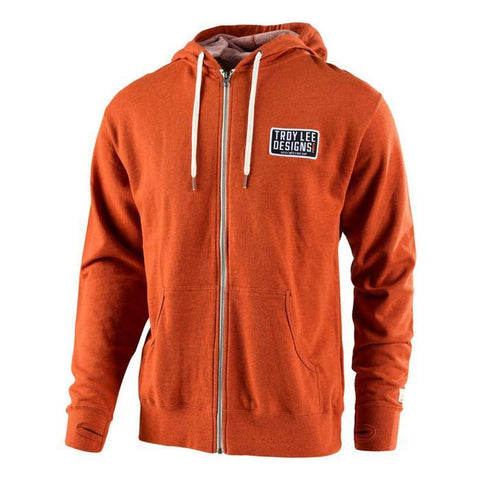 Troy Lee Casual Wear Troy Lee Designs Taken Hoodie - Burnt Orange