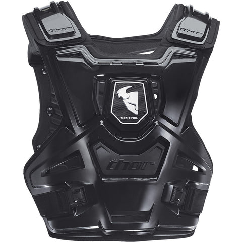 Thor 2019 Sentinel Youth MX Motocross & Enduro Chest Protector - Black