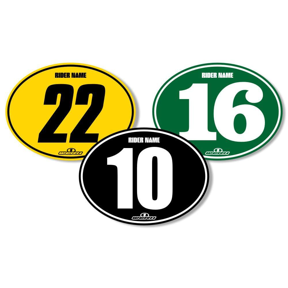 Vintage motocross number plate graphics - Vintage Evo Backgrounds Vintage Evo Oval Motocross Backgrounds Privateer Series