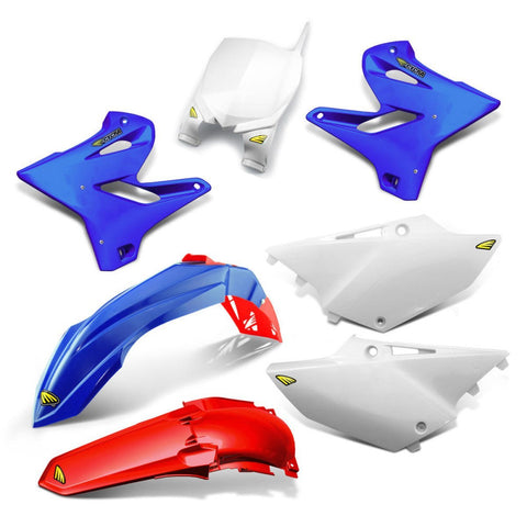 Yamaha Complete Plastics Kits YZ-F 250/450 14-17 Cycra Power Flow Full Plastics Kit Yamaha YZ/YZ-F 125-450 -2014-2018 - OEM/Red