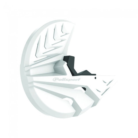 Polisport Front Disc and Bottom Fork Guard KTM SX/F/EXC/F 03-15 - White