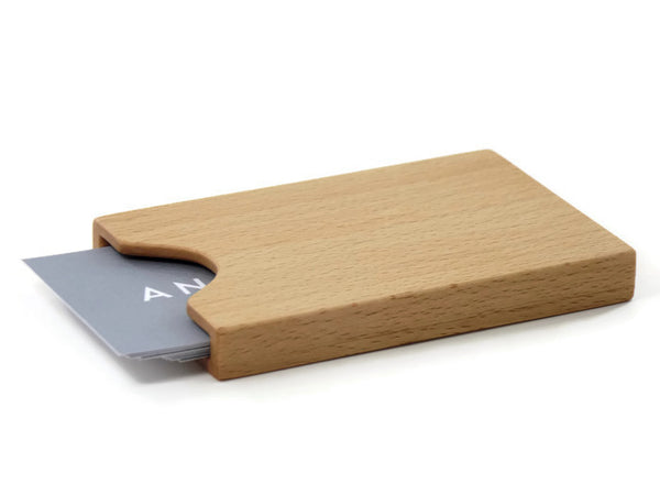 Beech Business Card Case