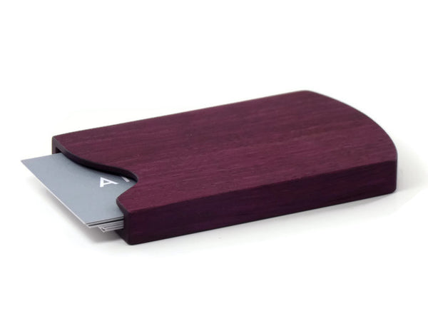 Purpleheart Business Card Case