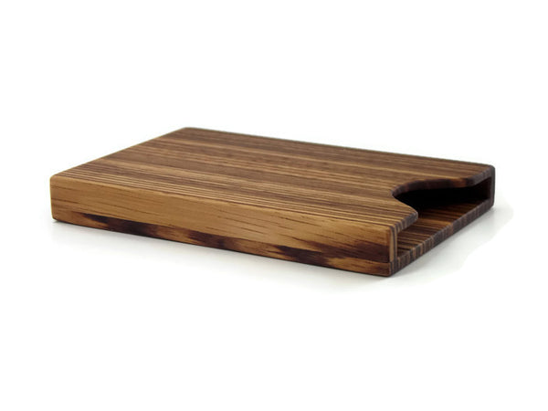 Zebrawood Business Card Case