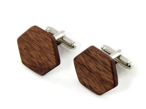 American Walnut Cufflinks