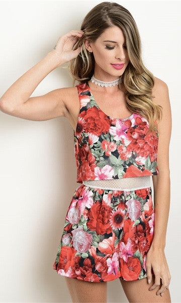 RED ROMPER - Annalee Rose Boutique