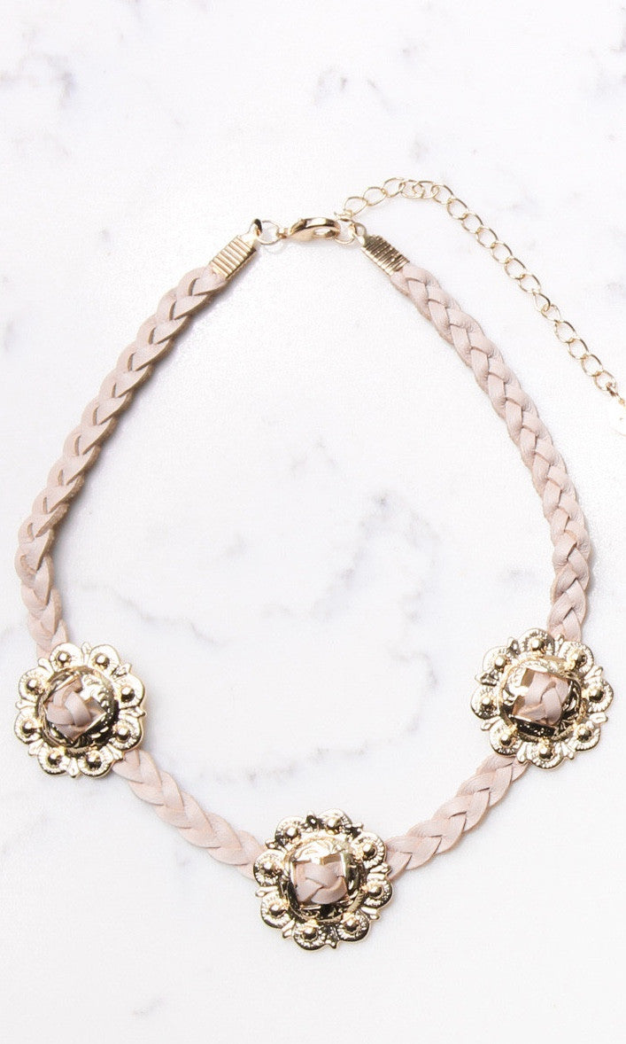 CONCHO CHOKER (BLUSH) - Annalee Rose Boutique