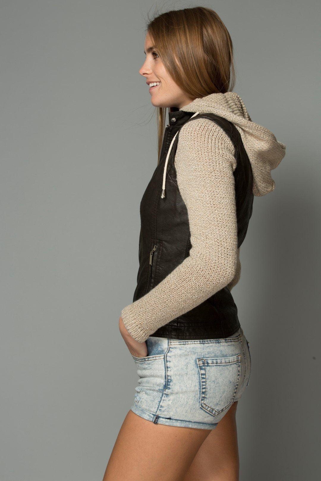 RUN AWAY WITH ME HOODED JACKET/VEST