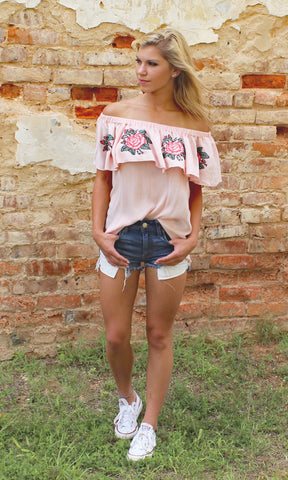 SUMMER ROSE TOP