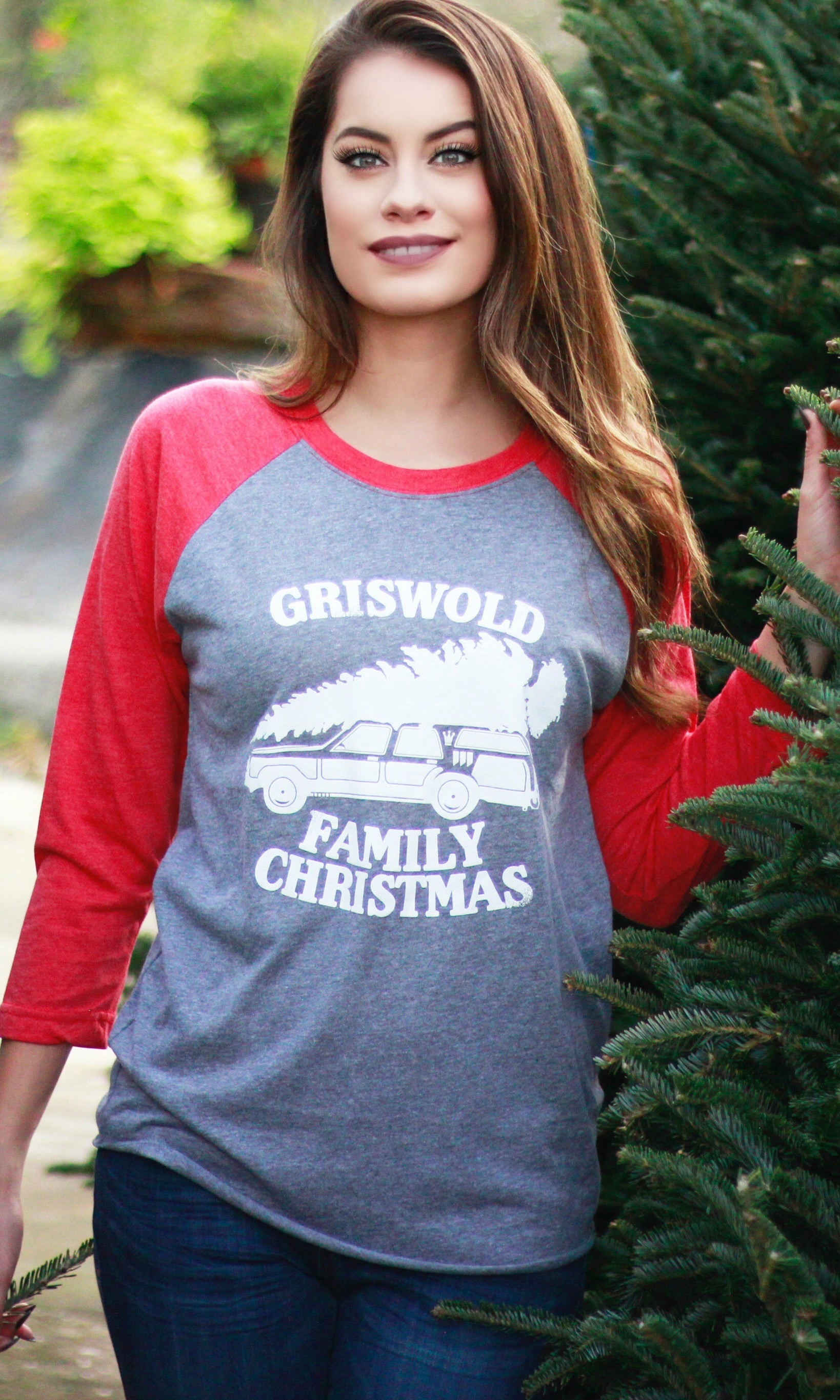 GRISOLD FAMILY CHRISTMAS RAGLAN