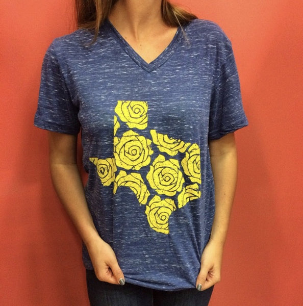 YELLOW ROSE OF TEXAS SHIRT - Annalee Rose Boutique