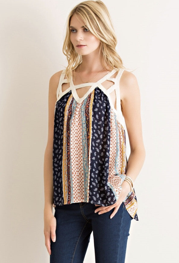 A CUT ABOVE THE REST TOP - Annalee Rose Boutique