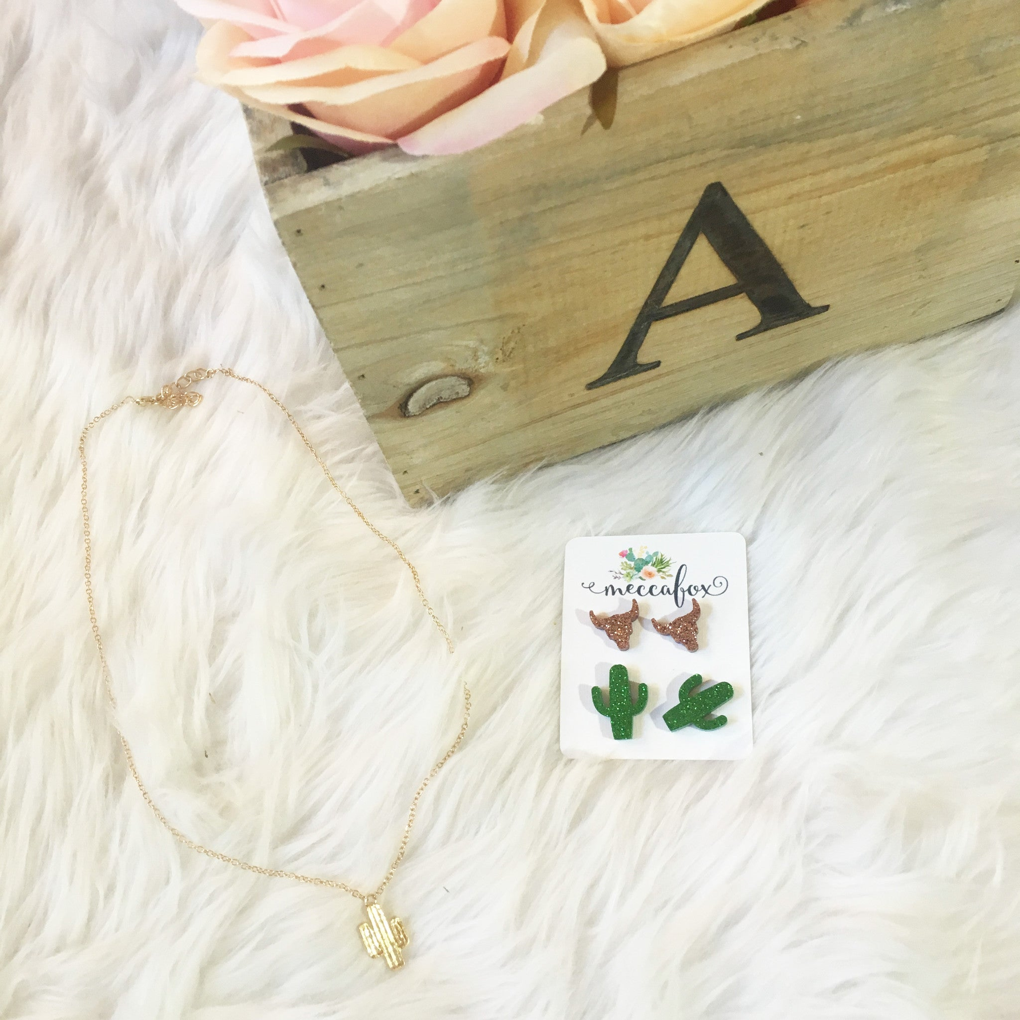 THE EYES OF TEXAS NECKLACE - Annalee Rose Boutique