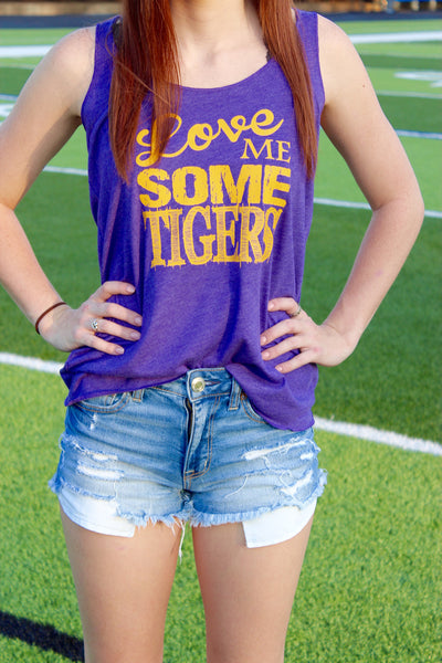 LOVE ME SOME TIGERS TANK - Annalee Rose Boutique