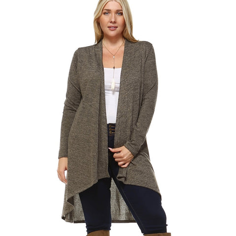 EVERYDAY CARDIGAN (PLUS SIZE) - Annalee Rose Boutique