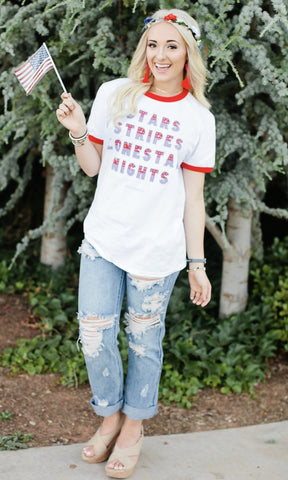 STARS AND STIPES TEE