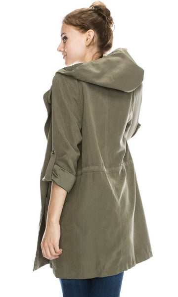 HOODED UTILITY JACKET - Annalee Rose Boutique