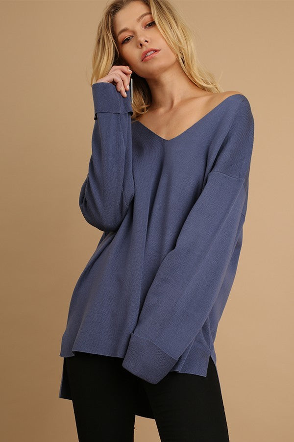CLEAN SLATE SWEATER