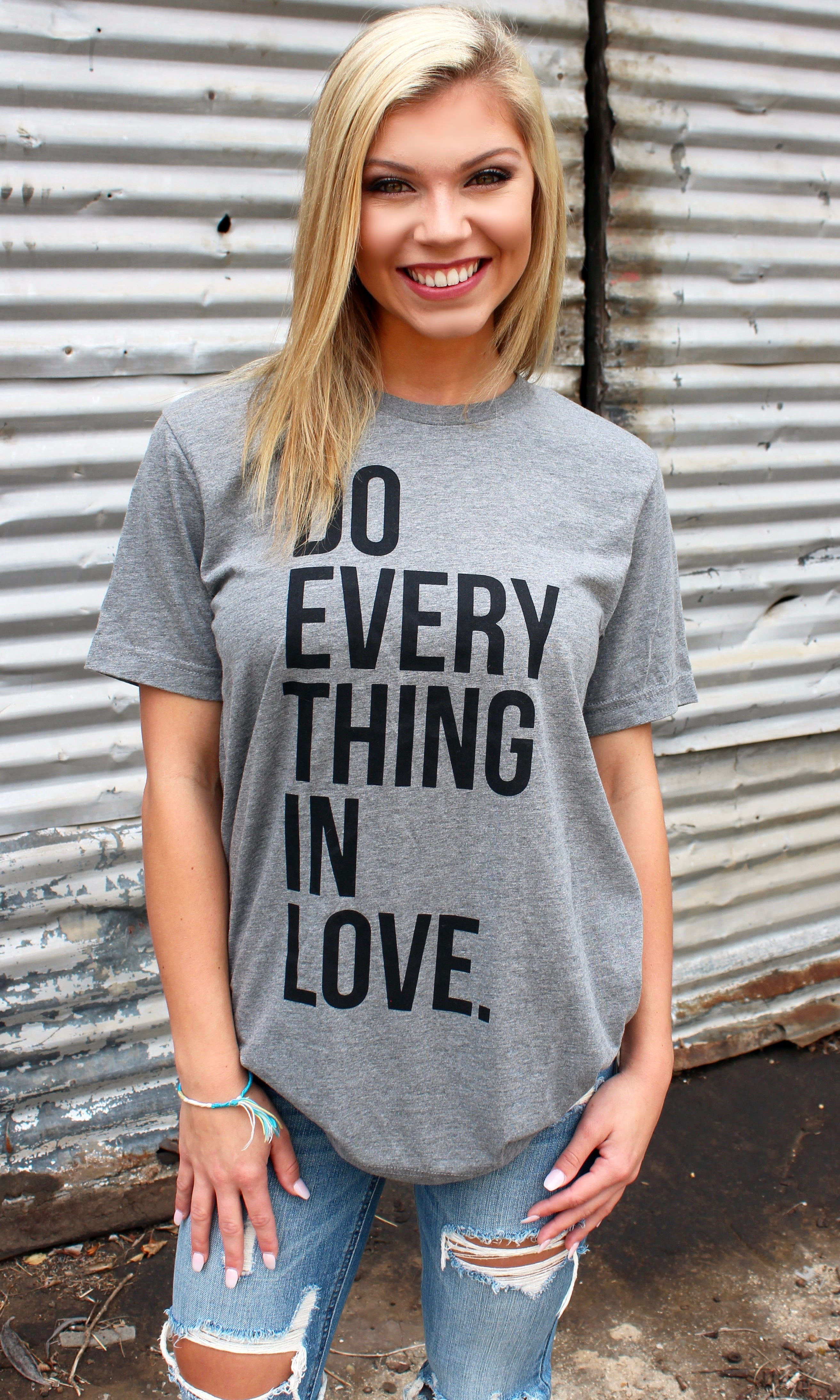 DO EVERYTHING IN LOVE TEE