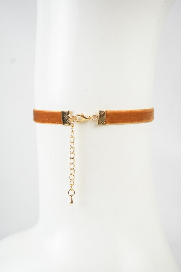 VELVET CHOKER - Annalee Rose Boutique