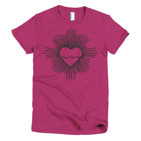 Radiant Heart Black T-shirt