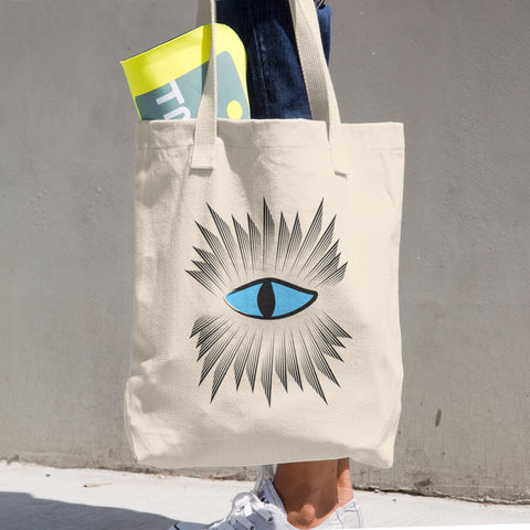 Evil Eye Protection Tote Bag