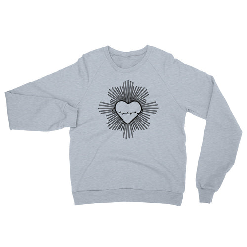 Radiant Heart Black Sweater - Azzurra Soul