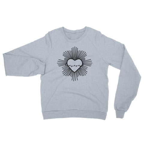 Radiant Heart Black Sweater