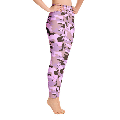 Pink Army Yoga Leggings