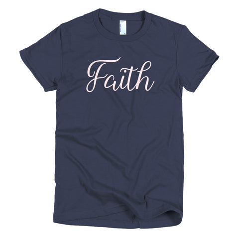 Faith Pale Pink T-shirt