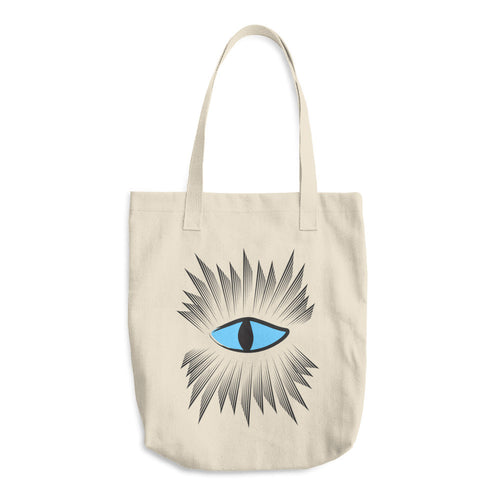 Evil Eye Protection Tote Bag - Azzurra Soul