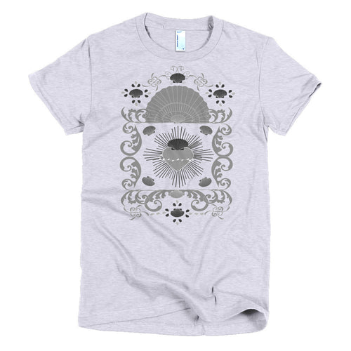 Baroque Shell and Hearts t-shirt - Azzurra Soul