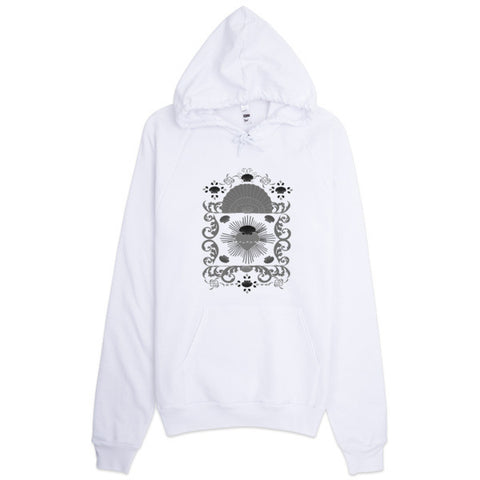 Baroque Shell and Hearts Hoodie